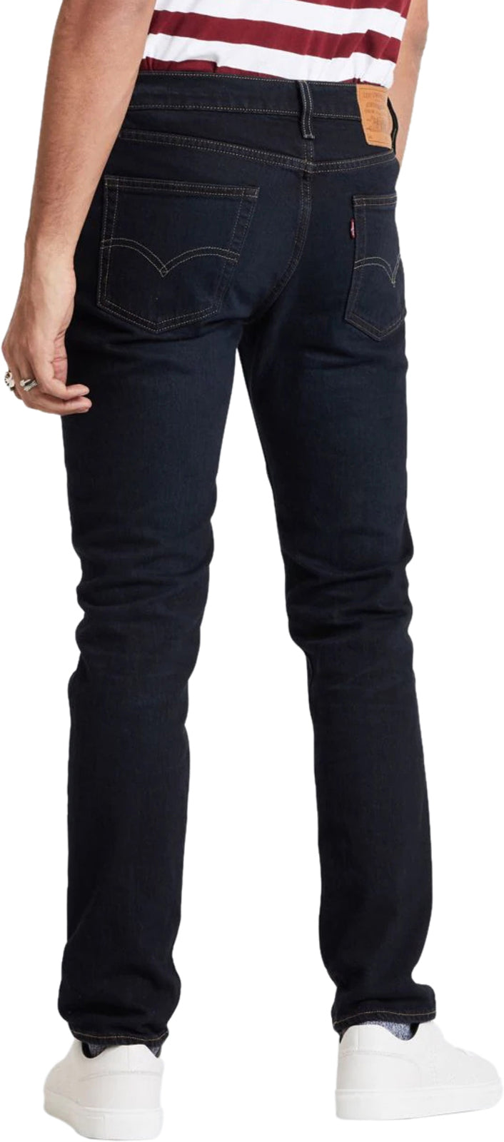 Levis-511-Slim-Fit-Denim-Jeans-Durian Dark Blue