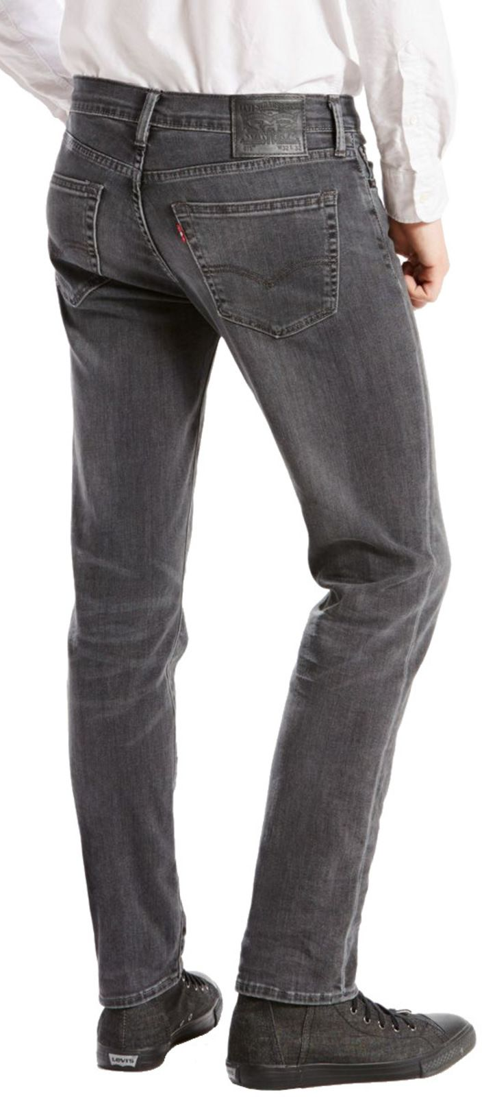 Levi's 511 Slim Fit Denim Jeans Headed East Grey
