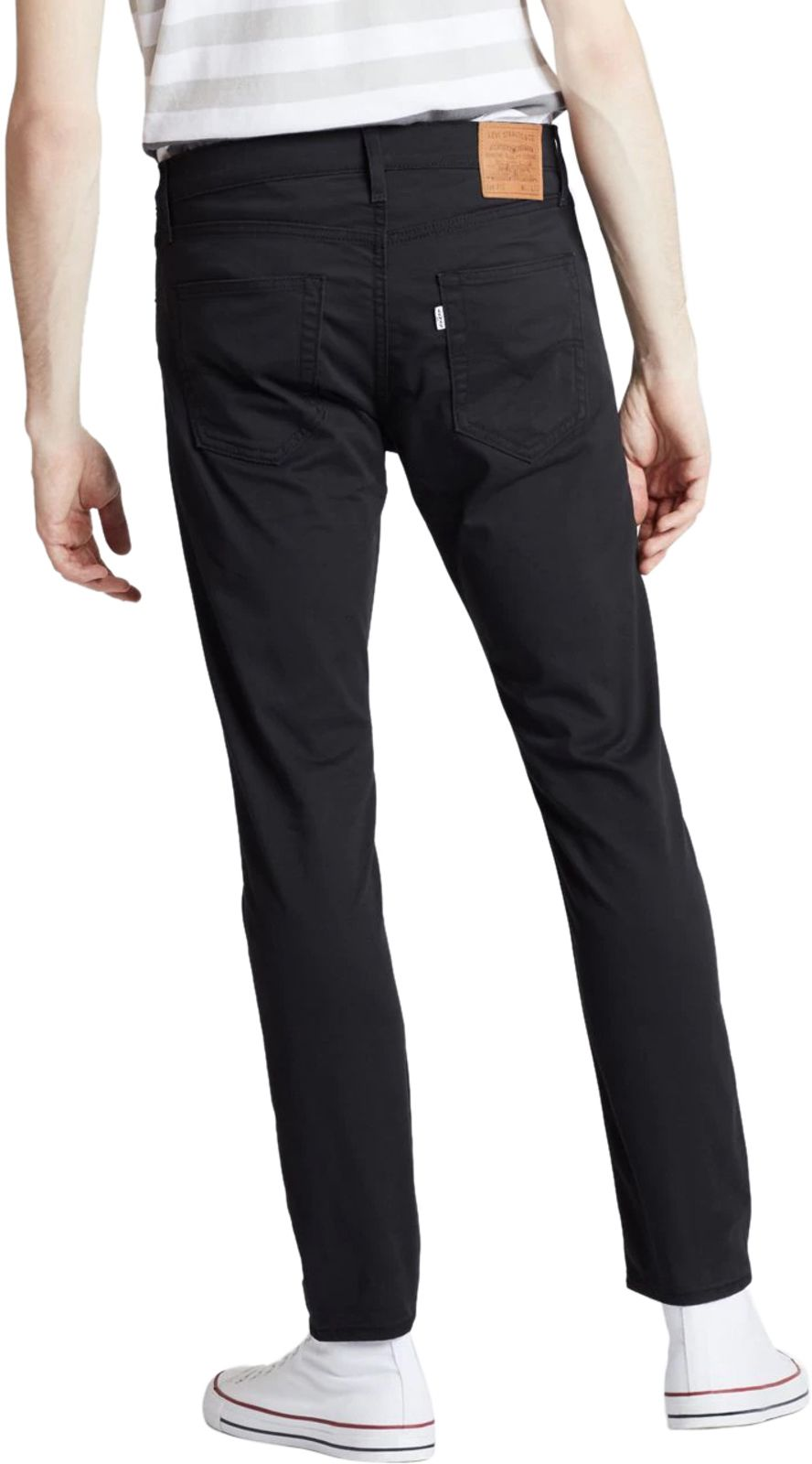Levi's 512 Slim Taper Fit Denim Jeans Black