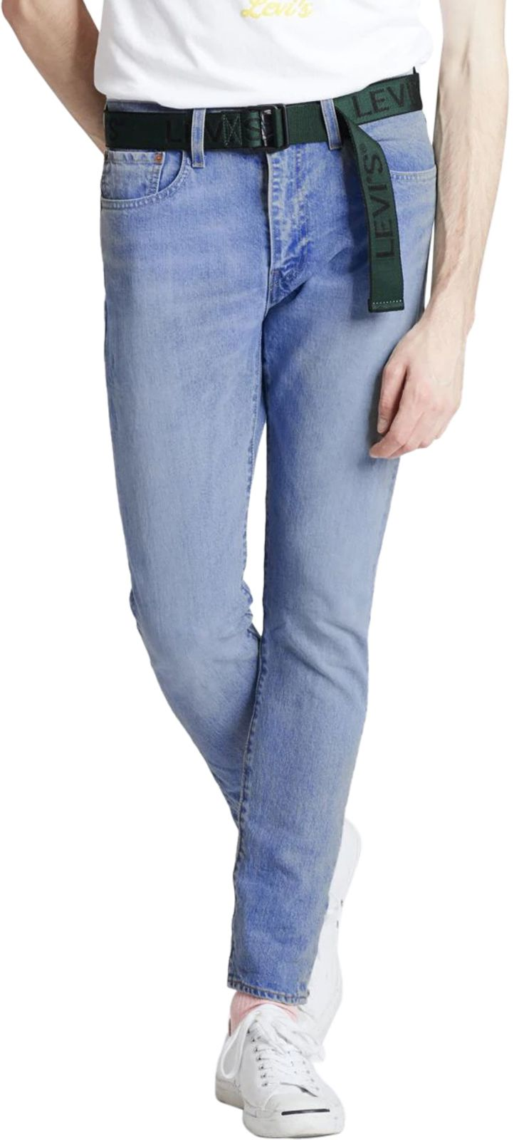 Levi's 512 Slim Taper Fit Denim Jeans Light Blue