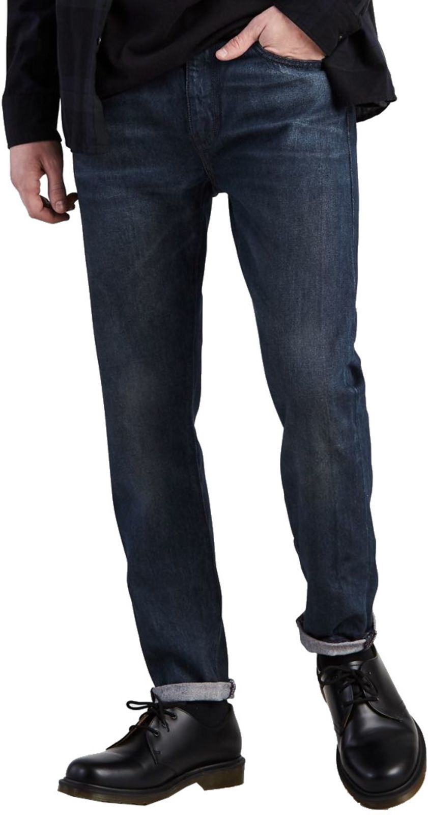 Levi's 512 Slim Taper Fit Denim Jeans Headed South Blue