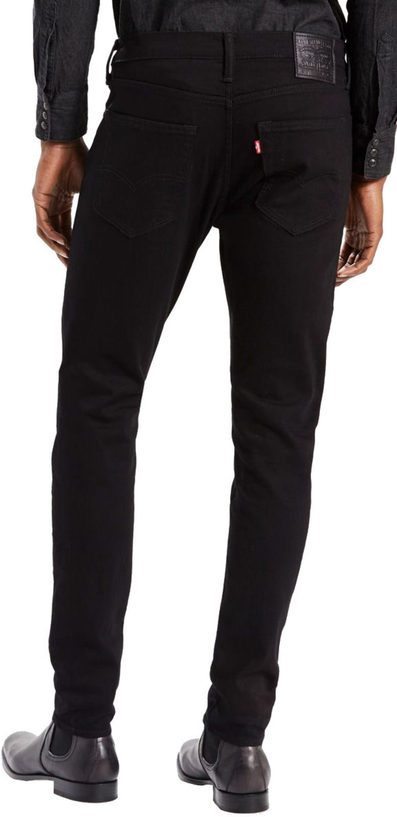 Levi's 512 Slim Taper Fit Denim Jeans Nightshine Black