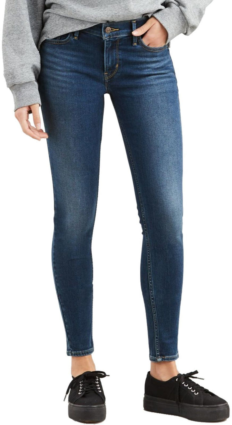 Levi's 710 Innovation Super Skinny Denim Jeans Blue