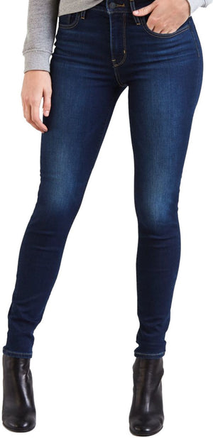 Levi's 721 High Rise Skinny Denim Jeans Blue