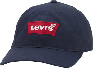 Levi's Big Batwing Flex Fit Baseball Cap Navy