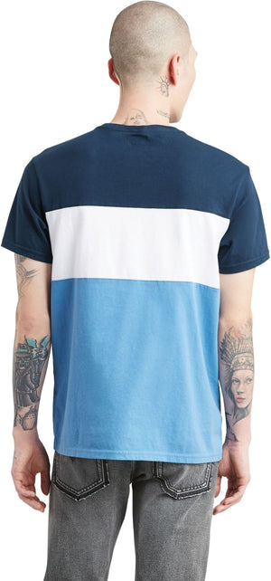 Levi's Colour-Block T-Shirt Blue