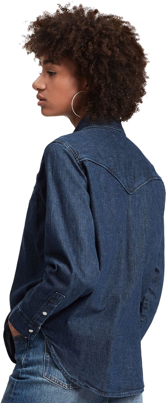 Levi's Dori Western Denim Shirt Blue