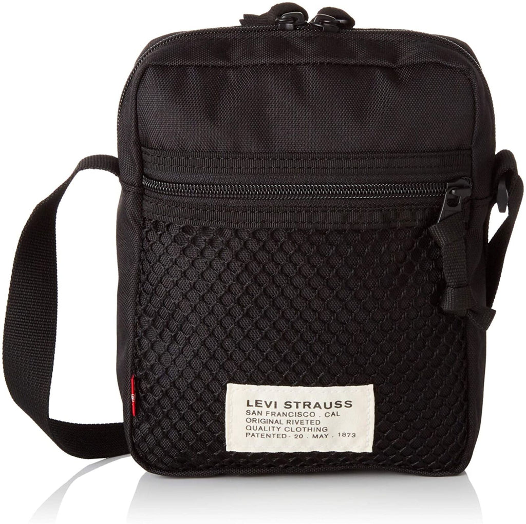 Levi's L Series Mesh Cross Body Bag Black