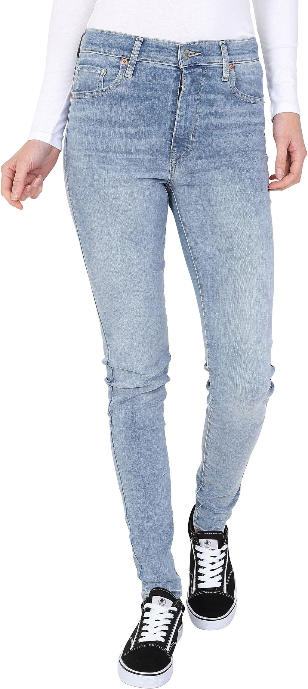 Levi's Mile High Super Skinny Denim Jeans Blue