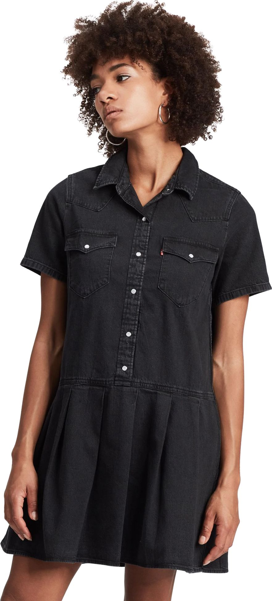Levi's Mirai Western Denim Dress Black