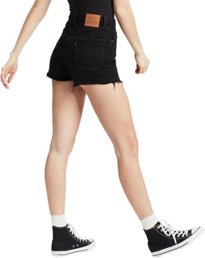 Levi's Ribcage High Waisted Denim Shorts