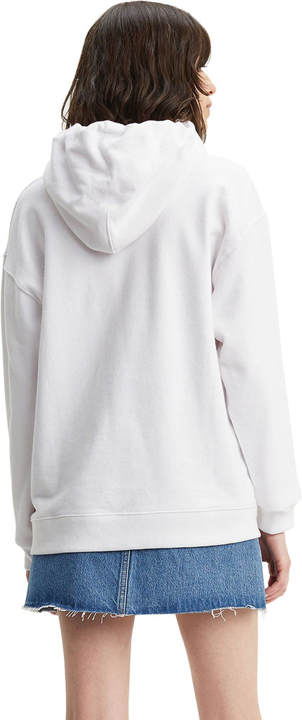 Levi's Women's Colour-Block Sportswear Hoodie White
