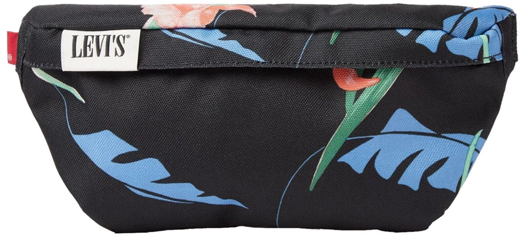 Levi's Women's Floral Banana Sling Bum Bag Black