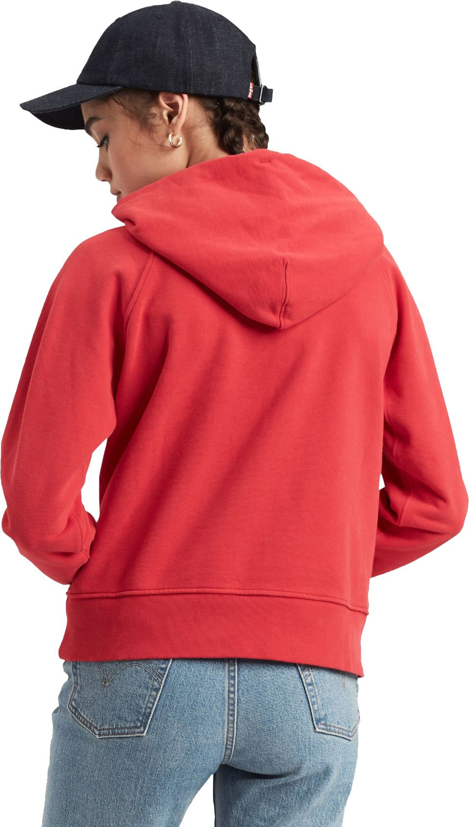 Levi's Women's Graphic Sport Hoodie Red