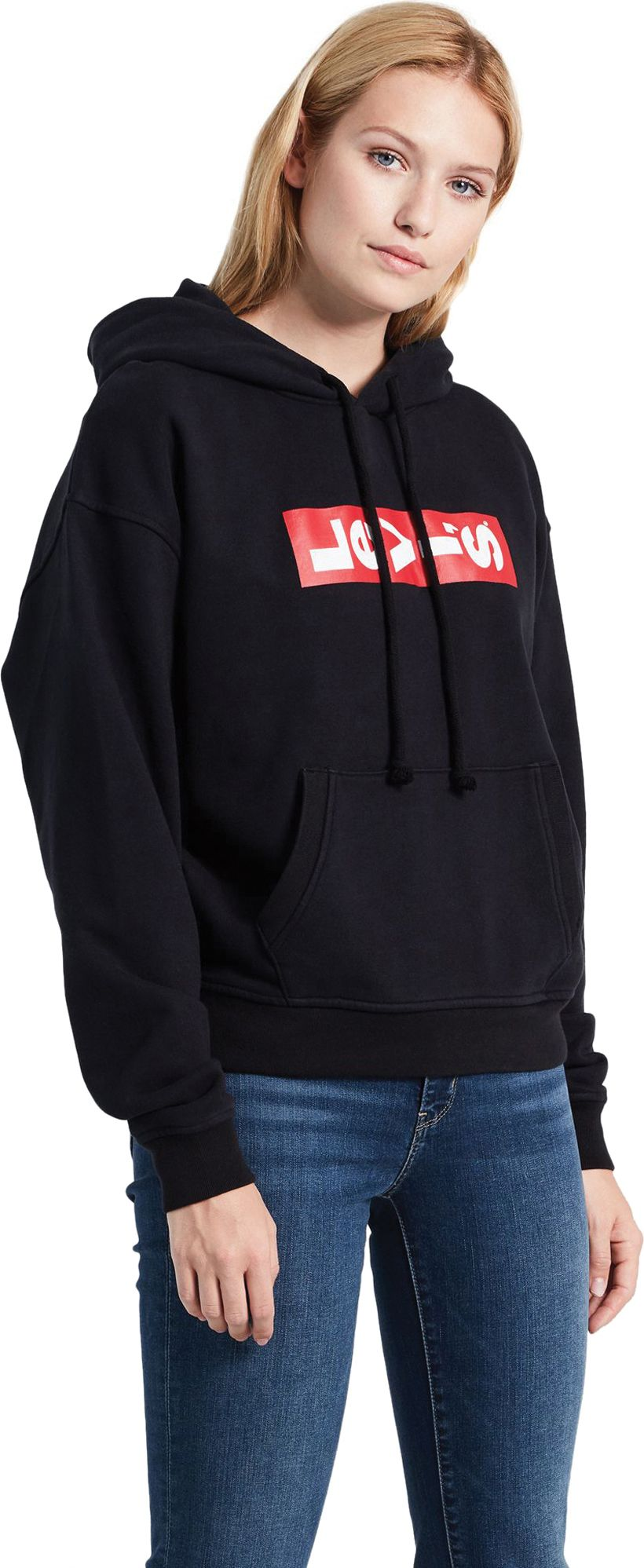 Levi's Women's Graphic Unbasic Hoodie Black