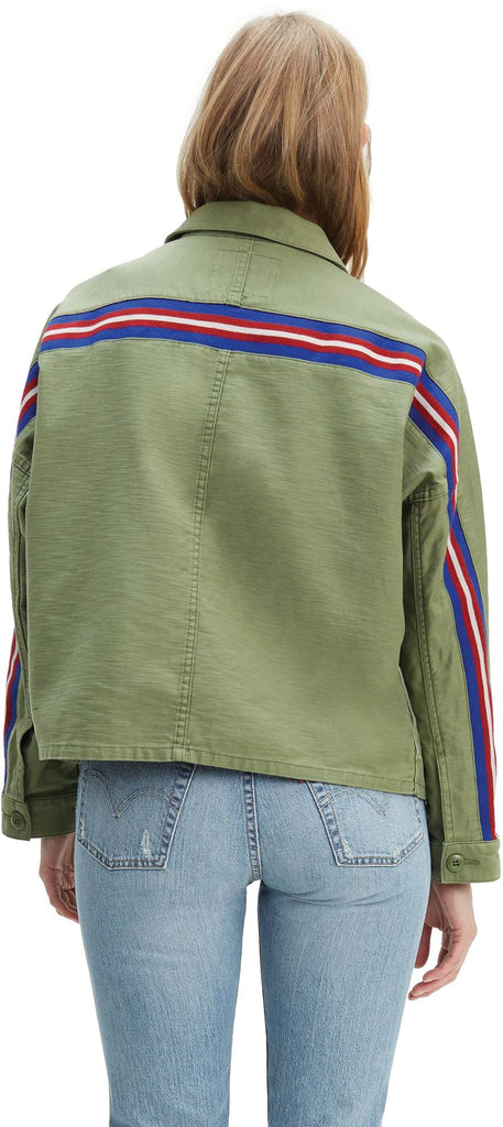Levi's Women's Ines Military Jacket Green