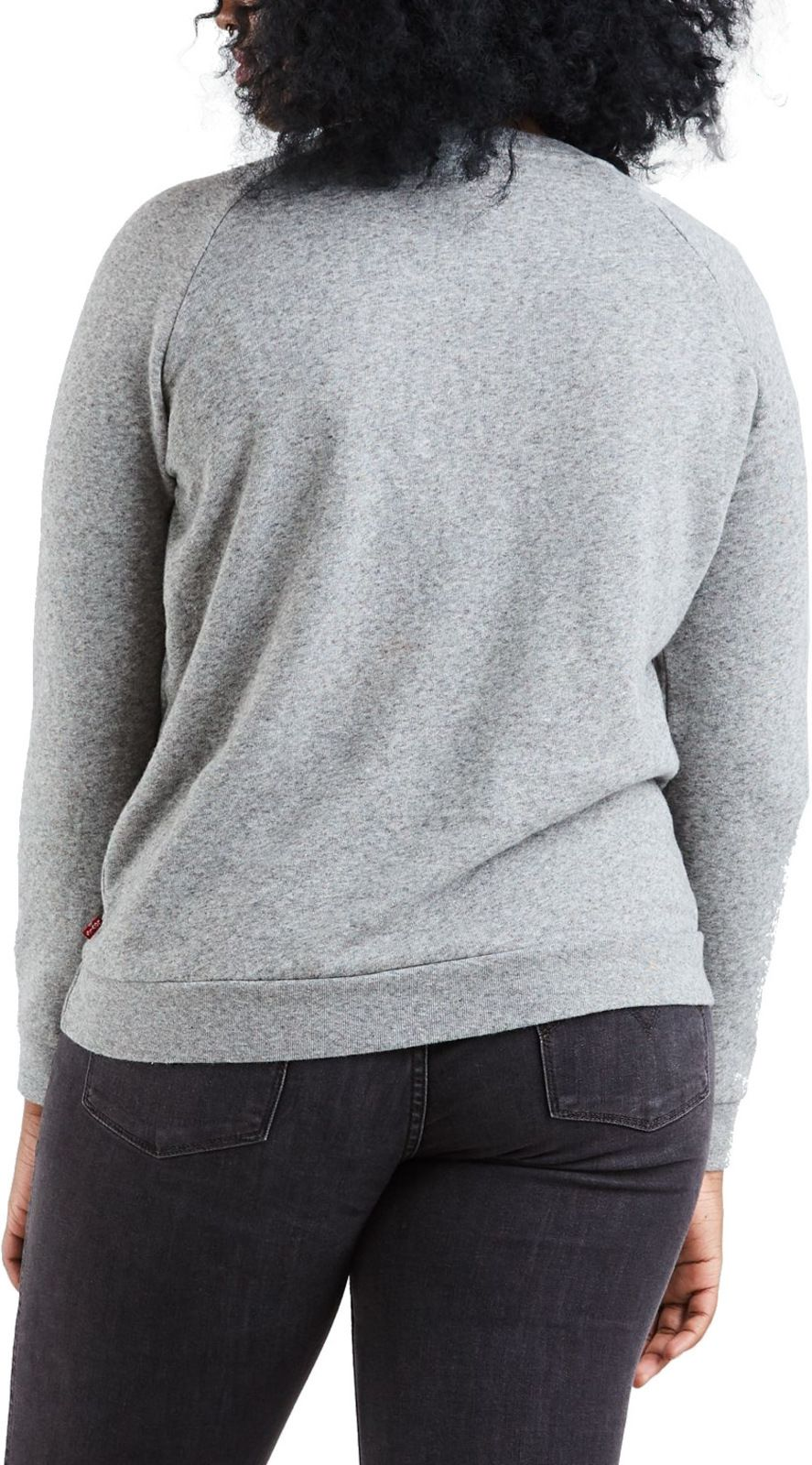 Levi's Women's Relaxed Graphic Sweatshirt Grey