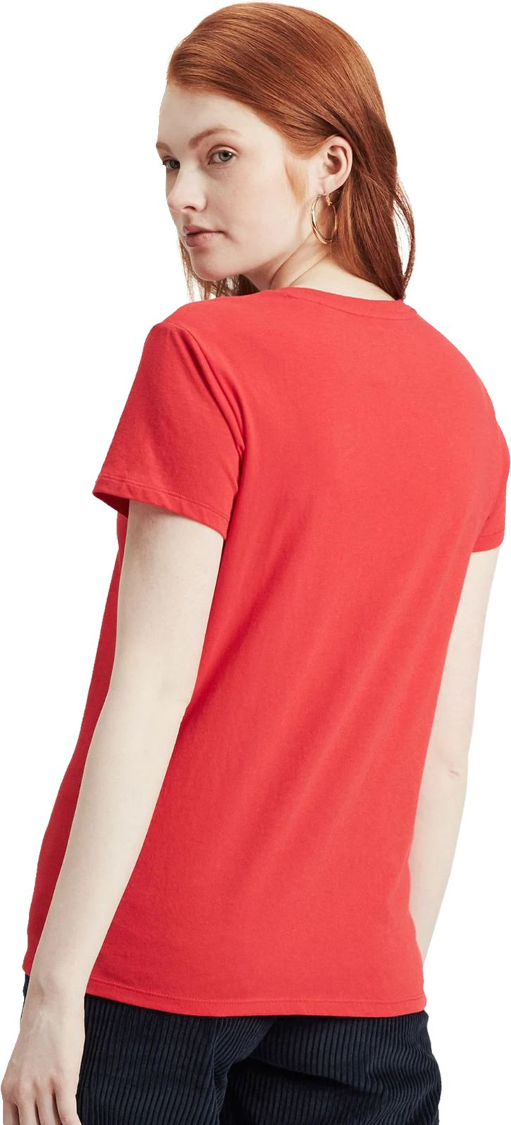 Levi's Women's The Perfect T-Shirt Red