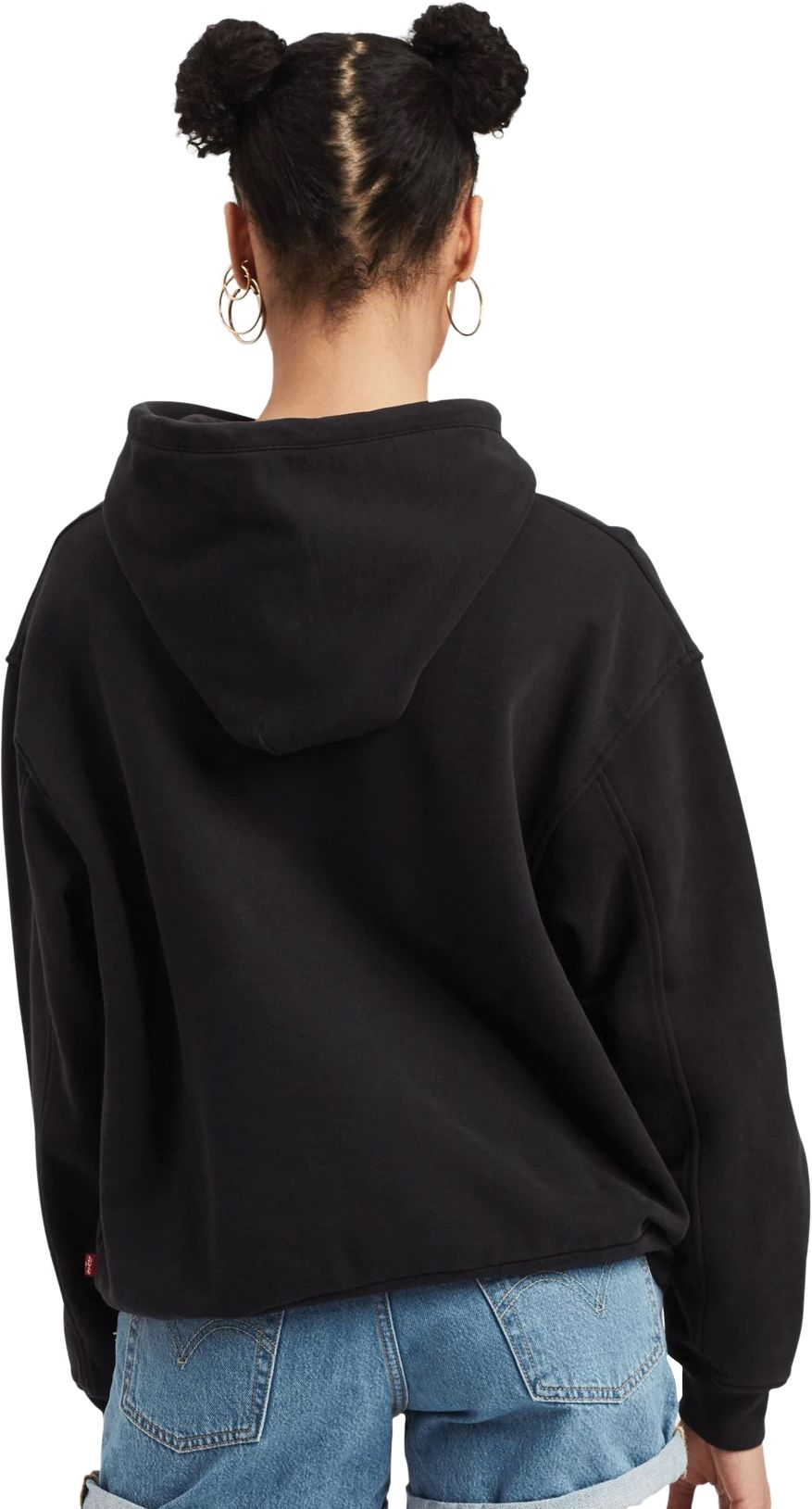 Levi's Unbasic 90s Text Hoodie Black