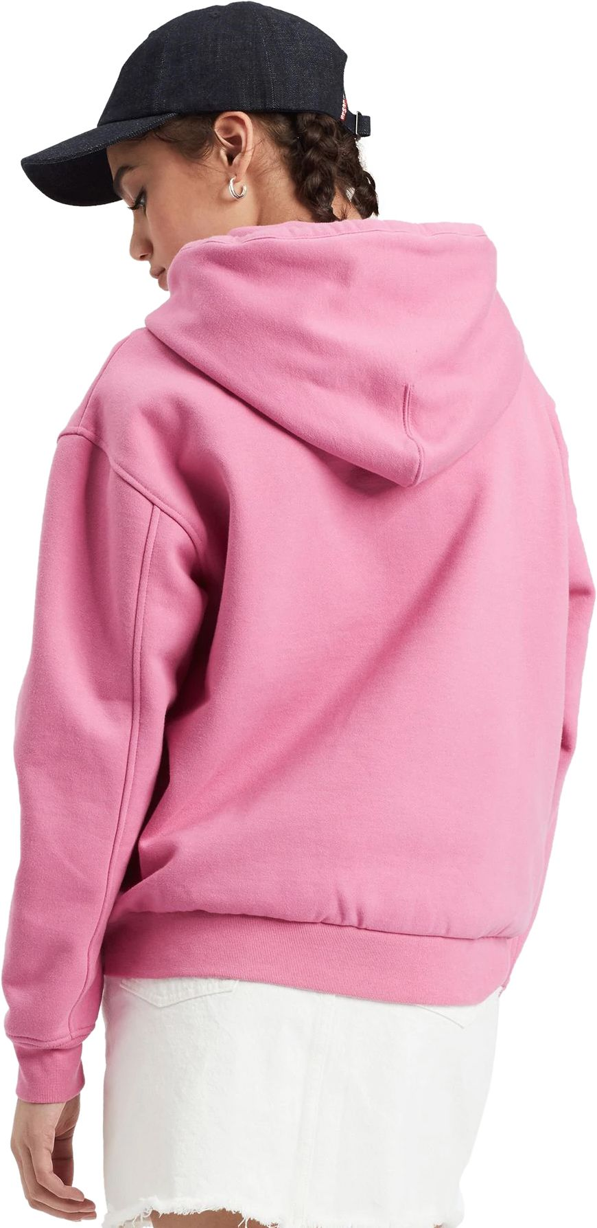 Levi's Women's Unbasic Hoodie Pink