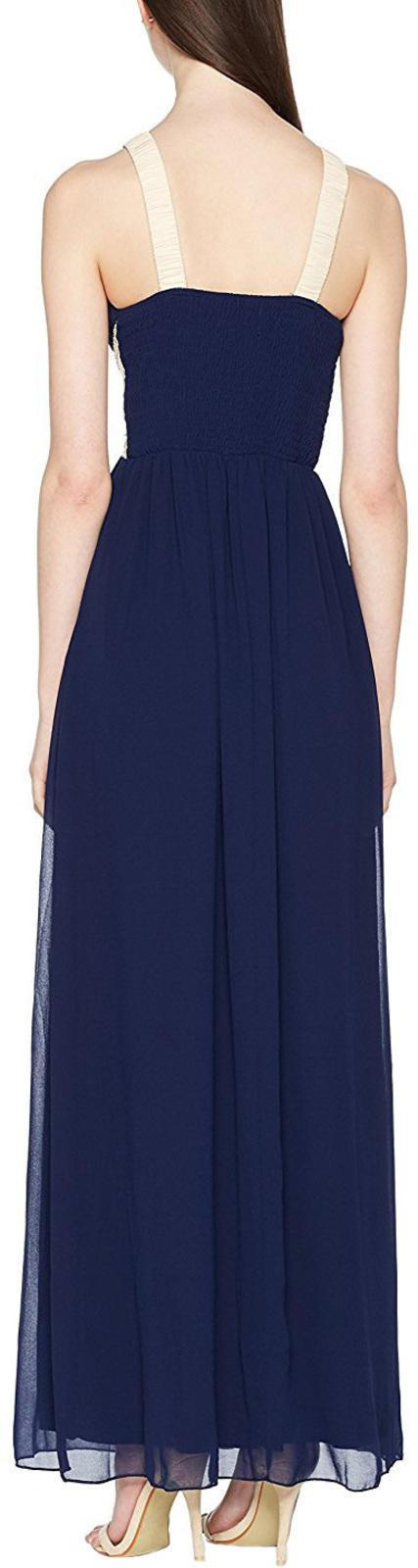 Little Mistress Empire Maxi Dress Navy