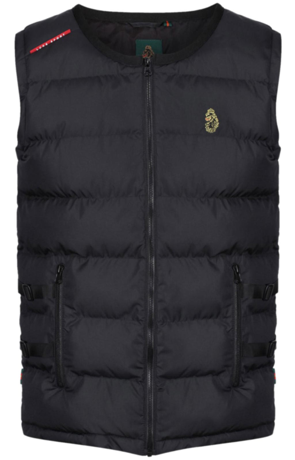 Luke 1977 UV Protection Padded Gilet Black