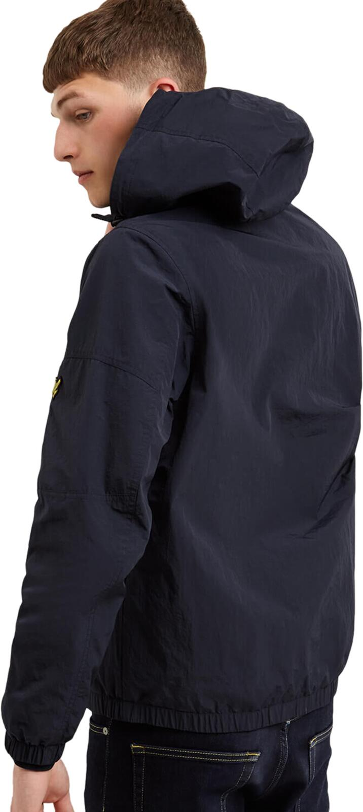 Lyle & Scott 1/4 Zip Popover Jacket	Dark Navy