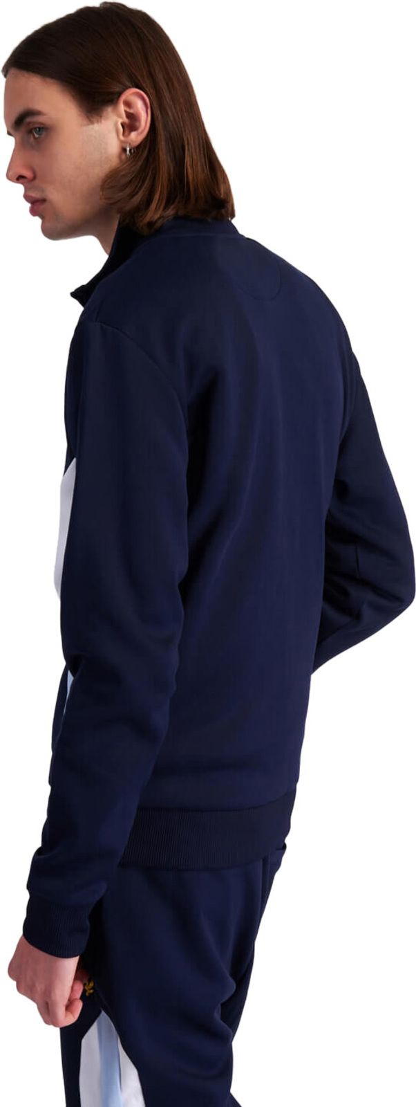 Lyle & Scott Archive Panel Track Top Navy
