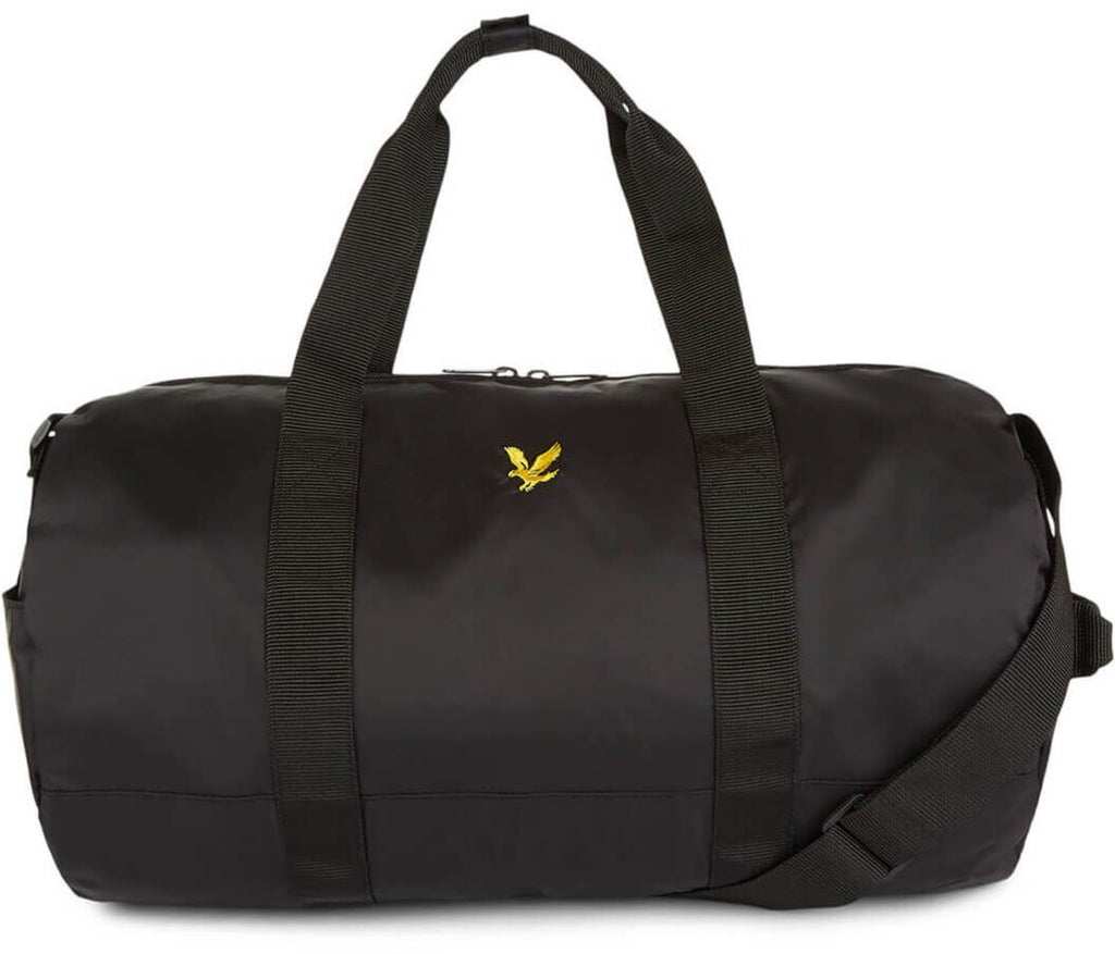 Lyle & Scott Barrel Duffle Bag Black