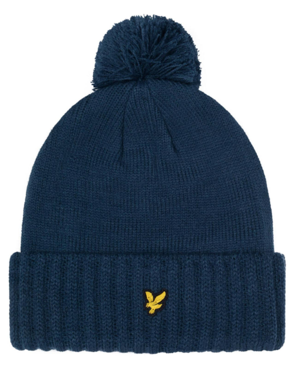 Lyle & Scott Bobble Beanie Hat Navy