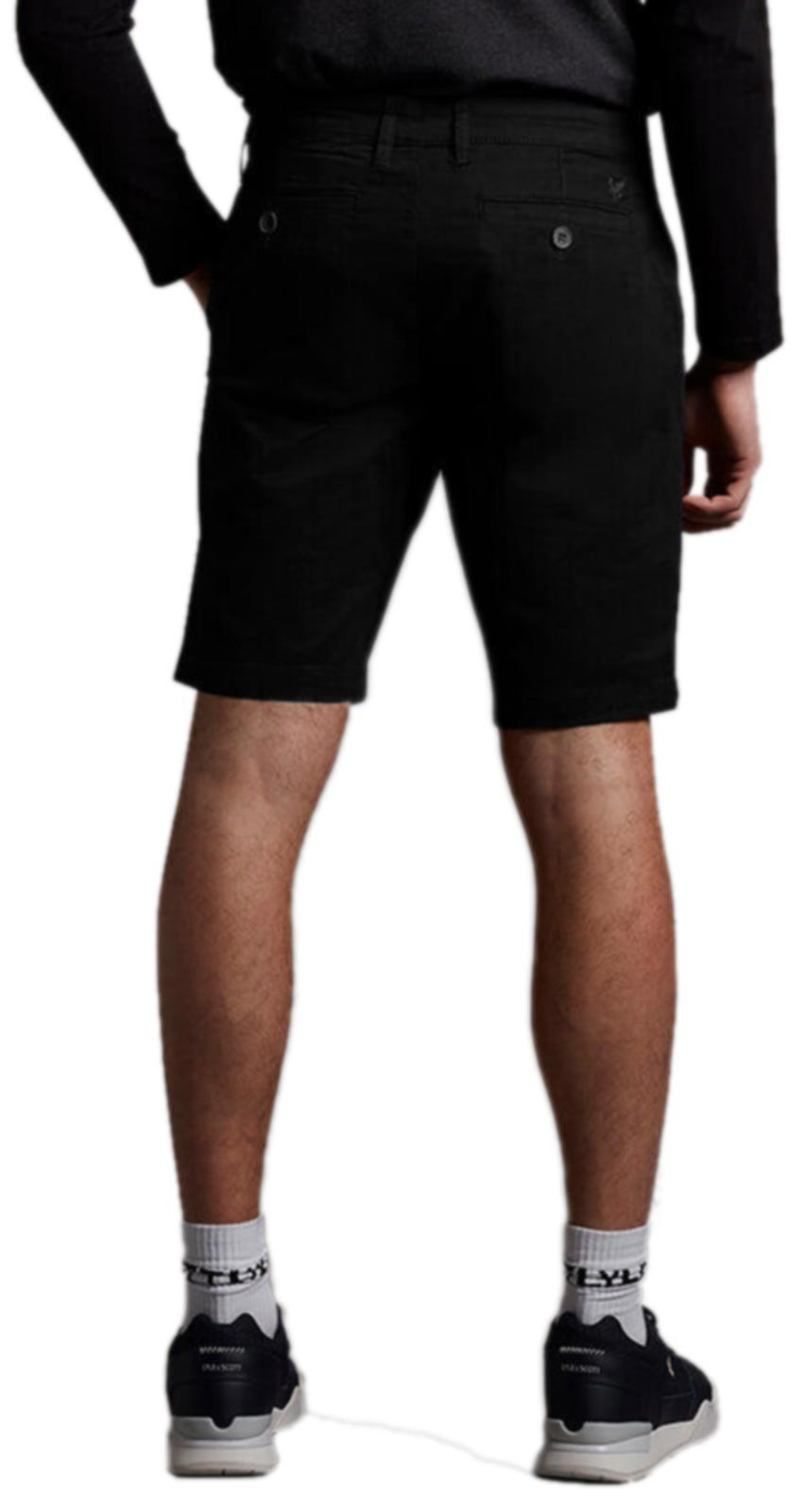 Lyle & Scott Chino Shorts SS21 Black