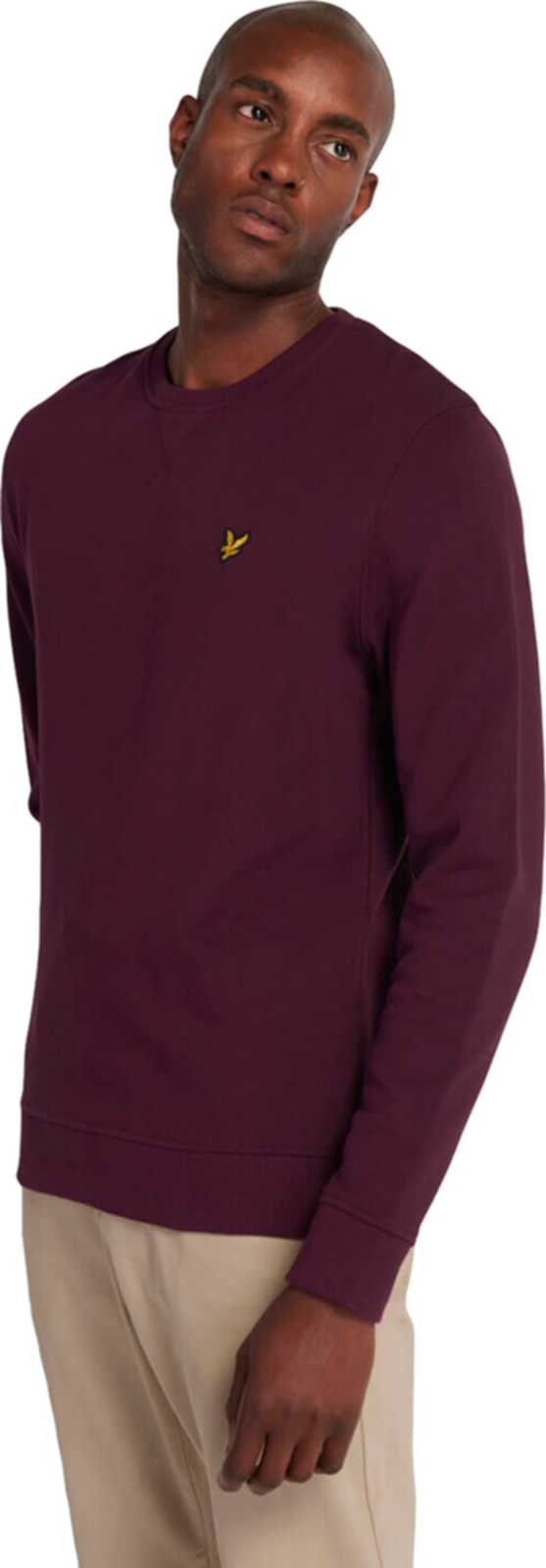 Lyle & Scott Crew Neck Sweatshirt Burgundy