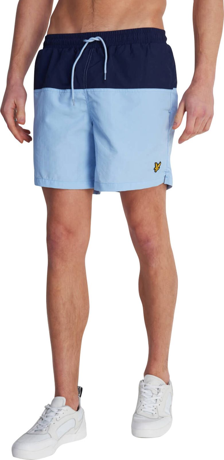 Lyle & Scott Half Split Swim Shorts Navy