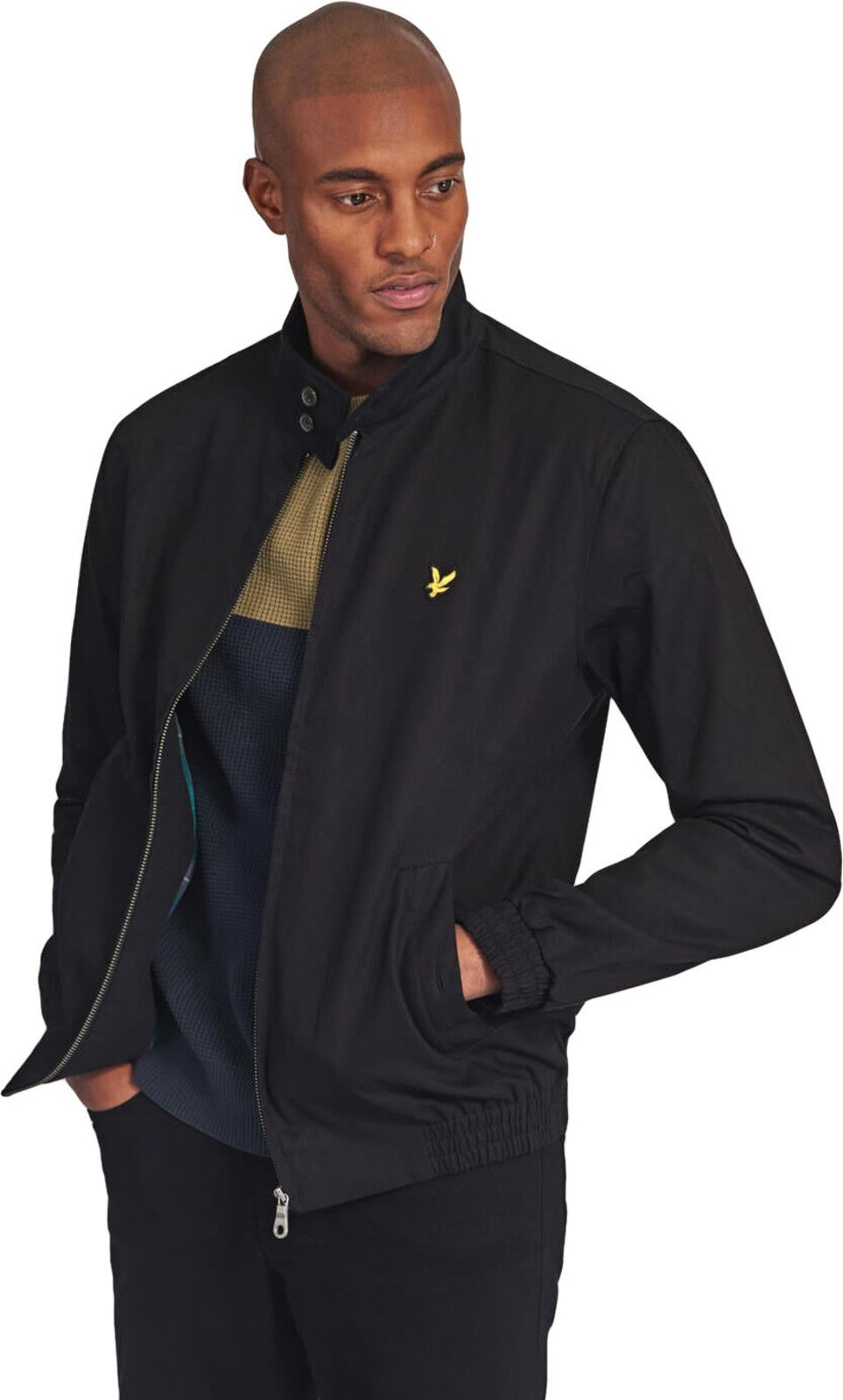 Lyle & Scott Harrington Jacket Black