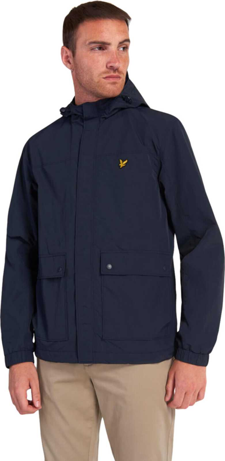 Lyle & Scott Hooded Pocket Jacket Navy