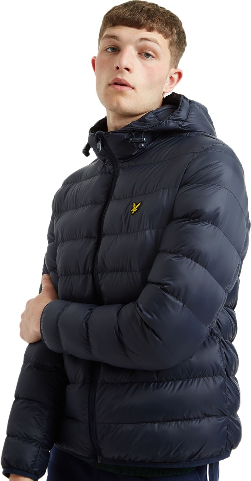 Lyle & Scott Lightweight Hooded Puffa Jacket