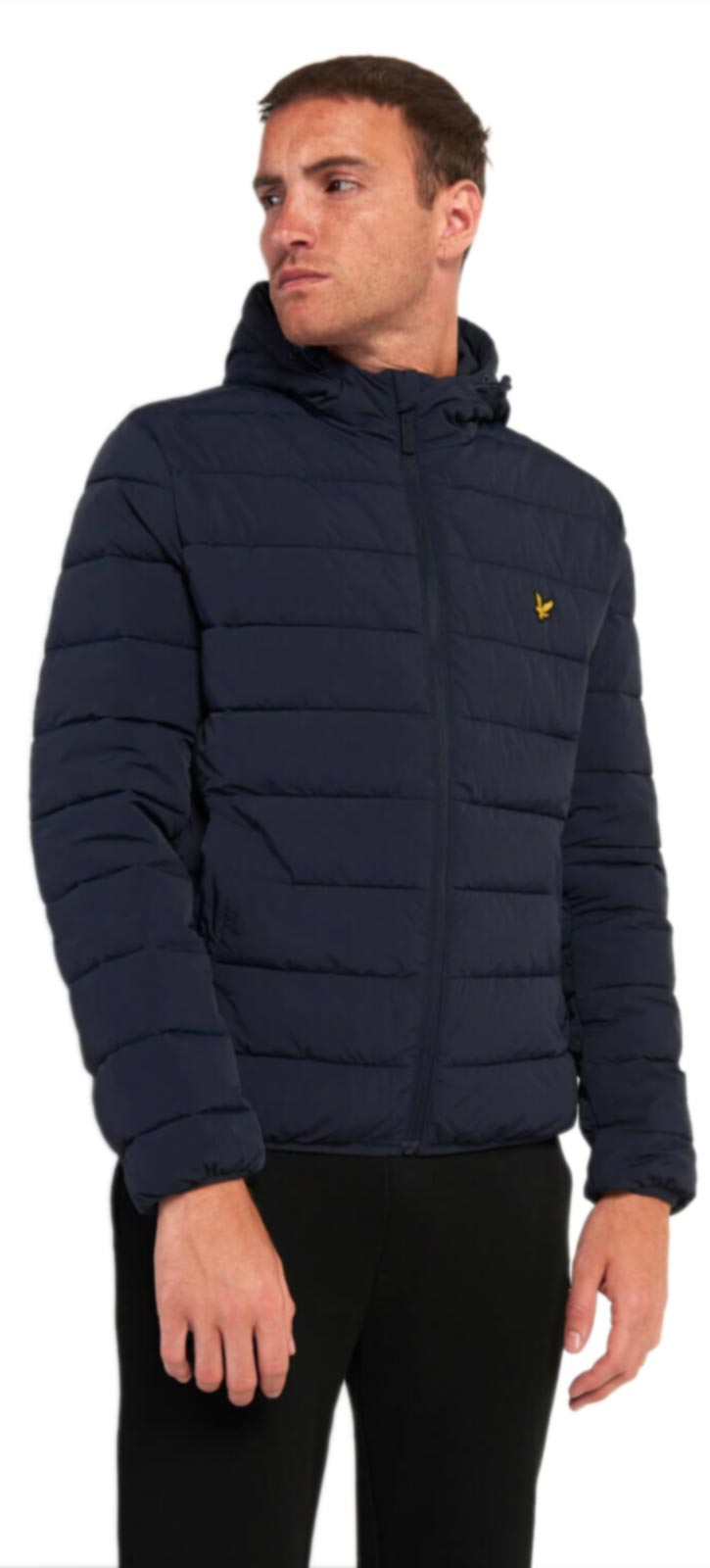Lyle & Scott Lightweight Puffa Jacket Navy