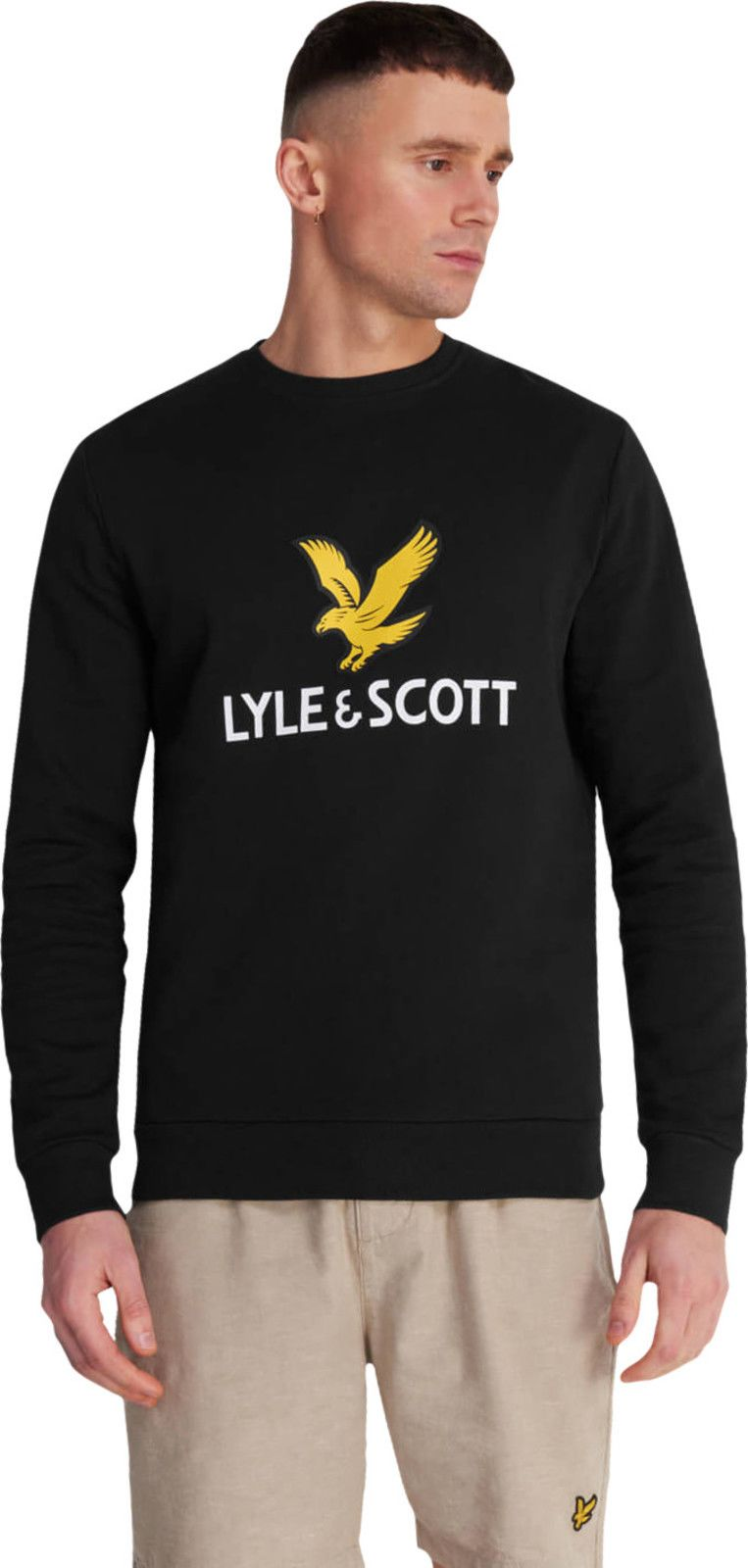 Lyle & Scott Logo Sweatshirt Black