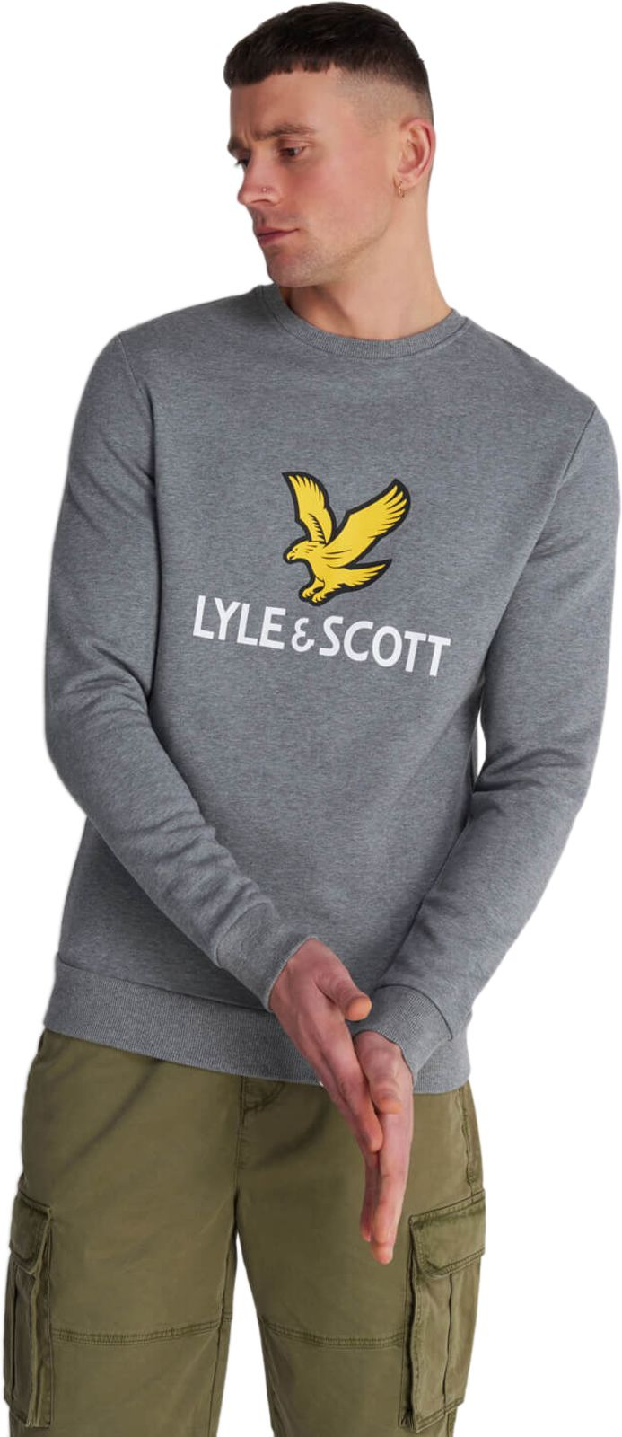 Lyle & Scott Logo Sweatshirt Grey