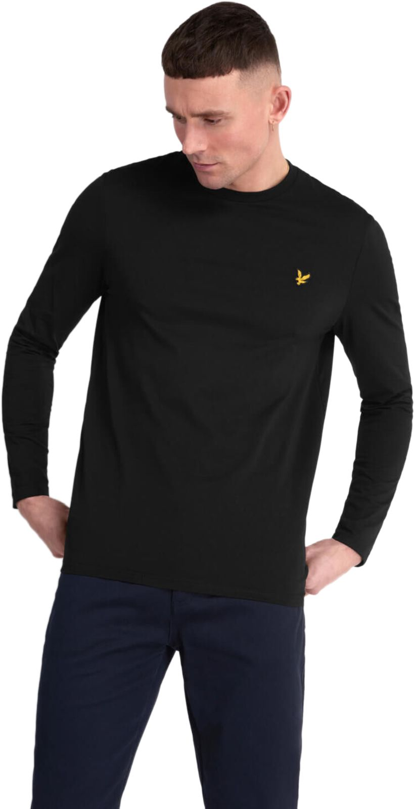Lyle & Scott Long Sleeve T-Shirt Black