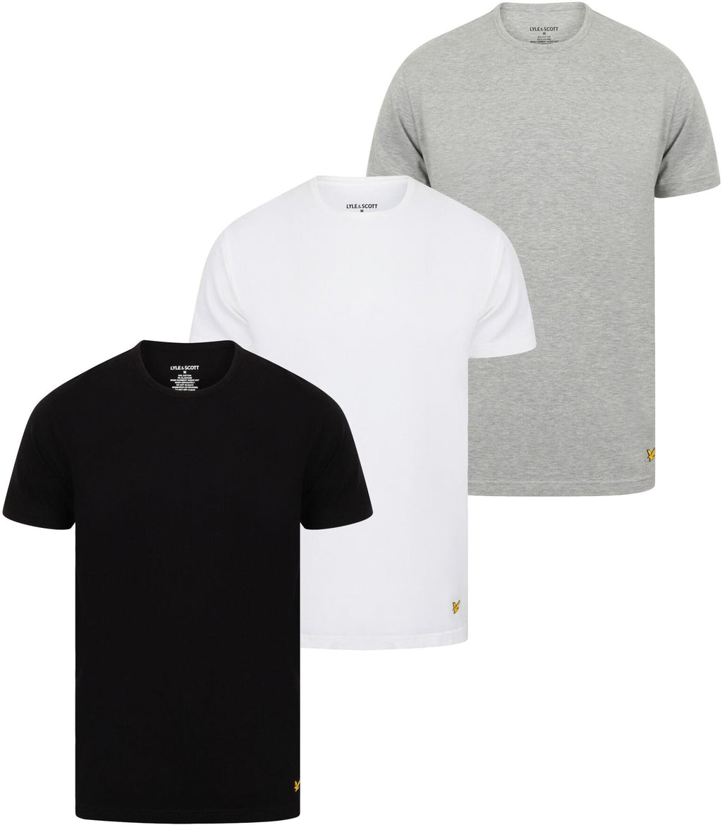 Lyle & Scott Maxwell 3 Pack T-Shirt Multi