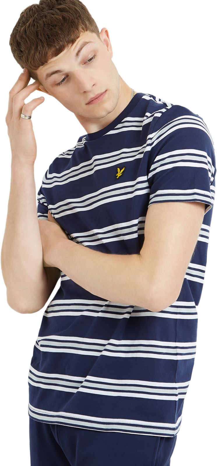Lyle & Scott Multi Stripe T-Shirt