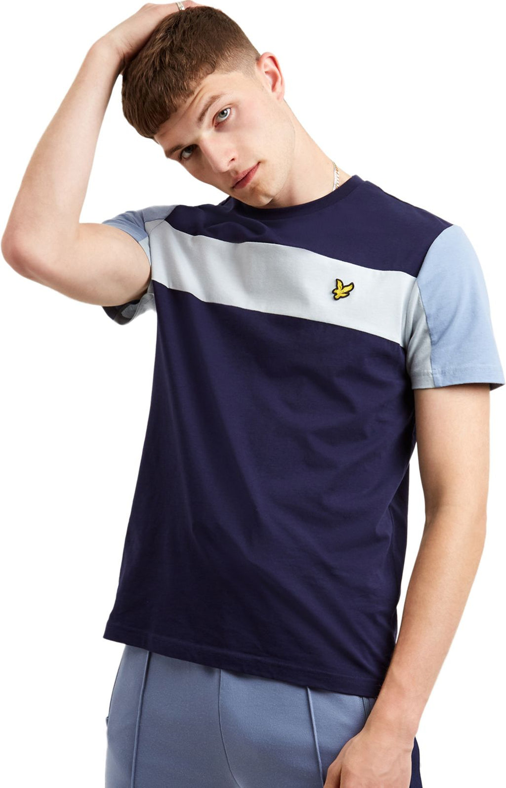 Lyle & Scott Panel T-Shirt