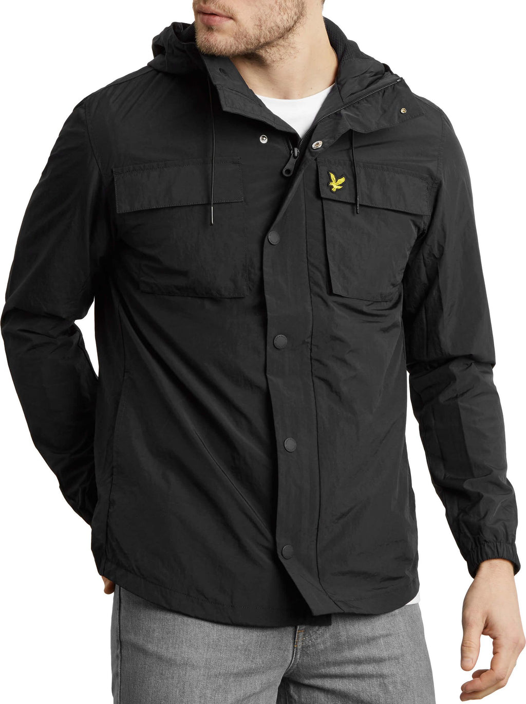 Lyle & Scott Pocket Jacket Black