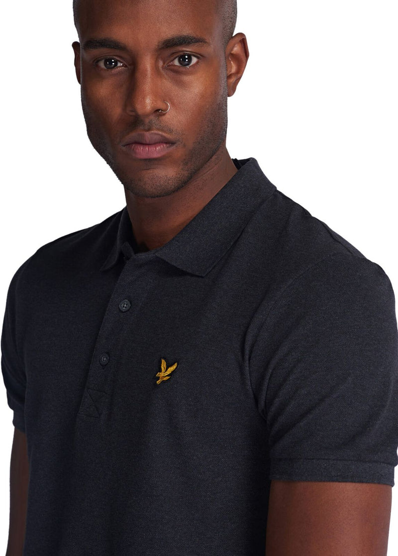 Lyle & Scott Polo Shirt Charcoal