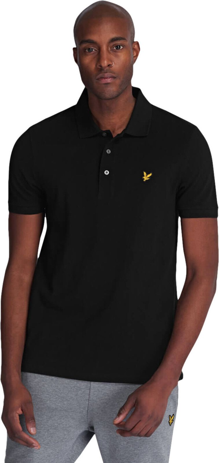 Lyle & Scott Polo Shirt Black