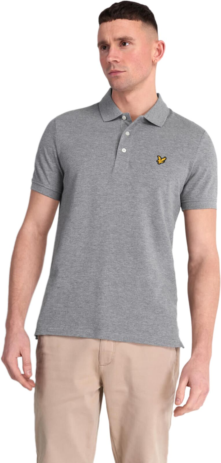 Lyle & Scott Polo Shirt Grey