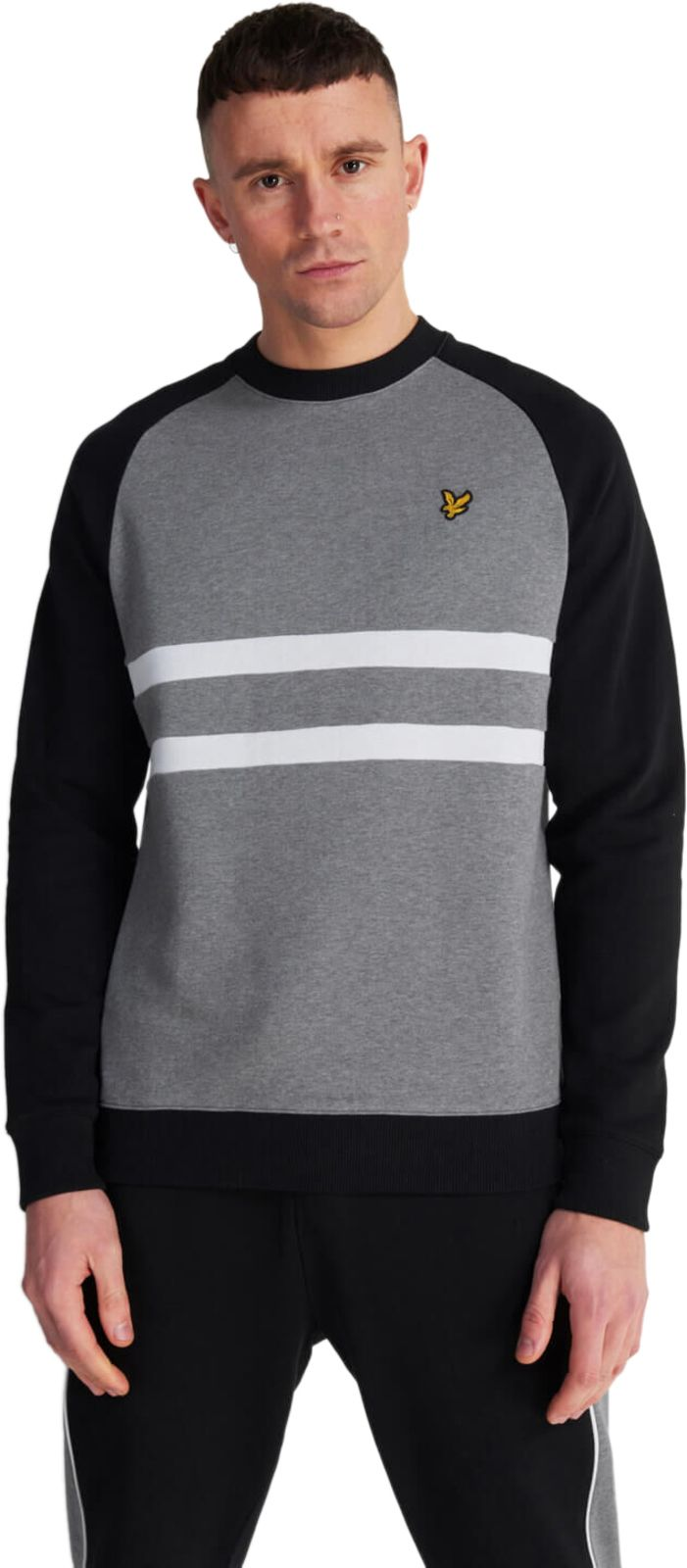 Lyle & Scott Raglan Sweatshirt Grey
