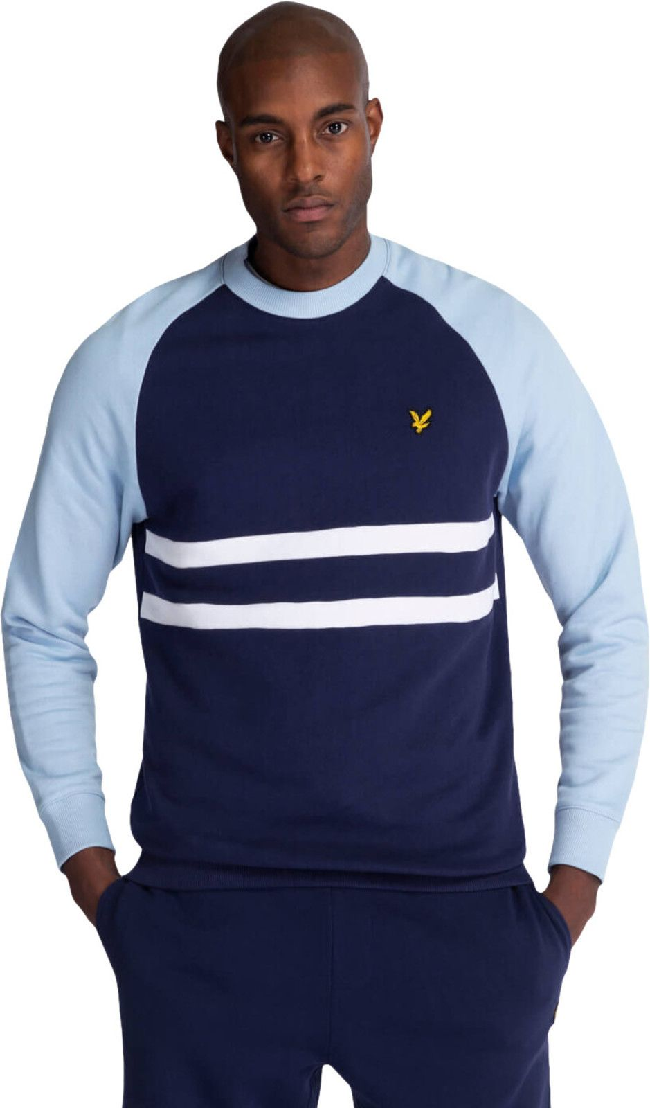 Lyle & Scott Raglan Sweatshirt Navy