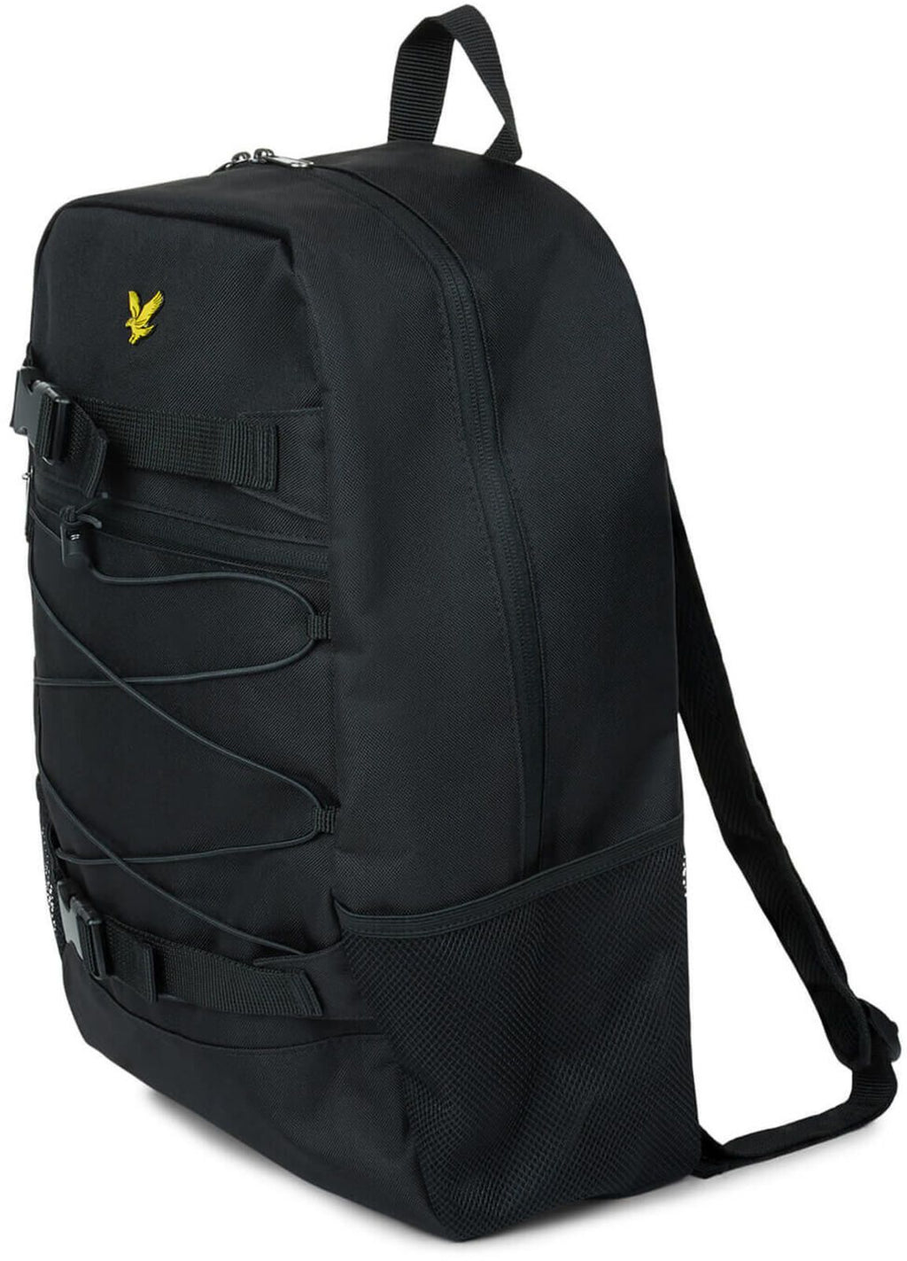 Lyle & Scott Skate Pack Backpack Bag Black